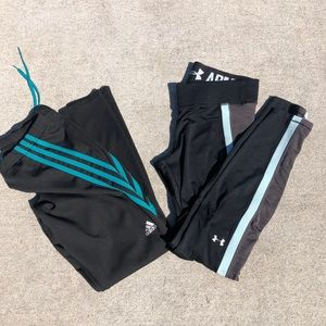 Addidas / Under Armour long athletic pants!